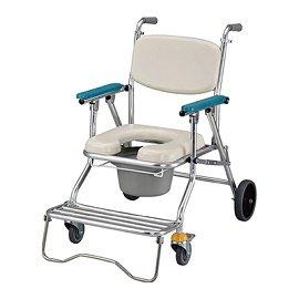 ~光星NOVA~鋁製附輪可收合洗澡椅馬桶椅 NCS~017C