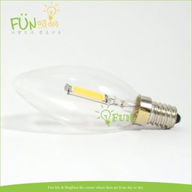 Fun照明 LED E12 1W 全周光 燈泡 單片式 取代傳統鎢絲燈泡   E14 E