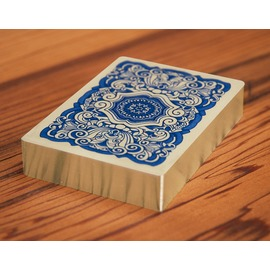 UUSI classic blue playing cards gilded sterli