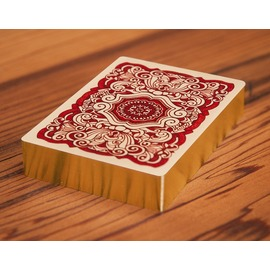 UUSI classic LE red playing cards 23.75KT
