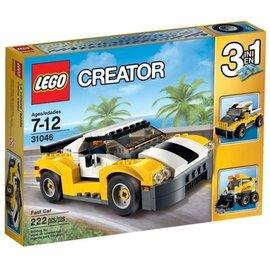樂高積木 LEGO 31046 高速黃色汽車