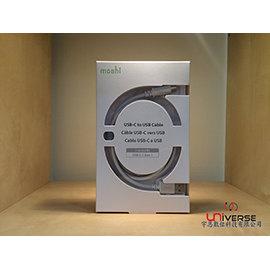 【宇恩數位】Moshi USB-C to USB 傳輸線 1M - 白色(公司貨/附發票)For MacBook 12吋