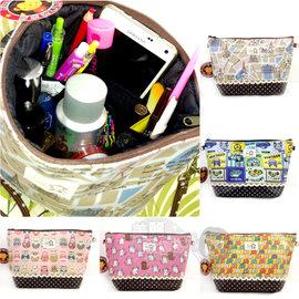 Pin Family 防水布側背化妝包^(1入^) 多款~美麗販售機~