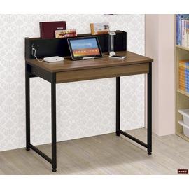 ~台北家福~ FC338~1 賈斯USB2.8尺胡桃兩用電腦桌傢具