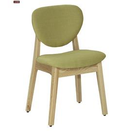 ~台北家福~^(FC484~9^)歐娜栓木綠色布餐椅傢具