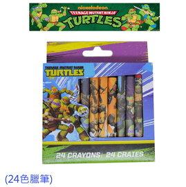 出口歐洲Ninja Turtles忍者龜24色臘筆 3歲以上   120元 盒