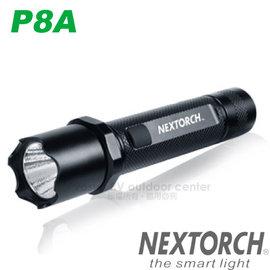 【NEXTORCH】P8A 高亮度戰術手電(660流明.143g).軍警用專業級手電筒/CREE XM-L LED.5種亮度模式.IPX-7防水/P8A