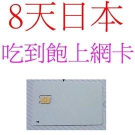 ^~8日吃到飽  上網卡 DOCOMO 4G 無限3G wifi~kelly東京民宿~上野