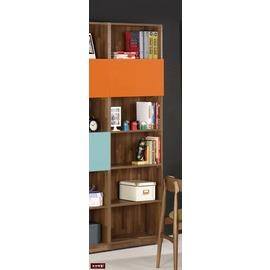 ~台北家福~^(FM355~5^) 洛爾納2尺書櫥 書櫃^(上掀門^)