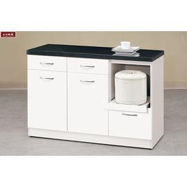 ~台北家福~^(FM404~2^) 雅典娜4尺石面收納櫃 碗盤櫃下座