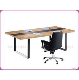 ~沙發世界 ~會議桌^(柚木色^)~ 破盤價,到店 禮〈S66150~2〉洽談桌 開會桌椅