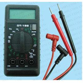新竹市 DT-182 LCD 電子數位 三用電表/萬用電表/電錶 (液晶顯示)