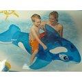 玩樂 美國INTEX 58523藍色小鯨魚充氣坐騎 動物 坐騎 有手把 兒童夏天玩水 游泳