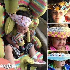 汽車安全座椅 睡覺用品 嬰兒童枕頭配件 推車旅行 頭部固定帶 保護神器【HH婦幼館】