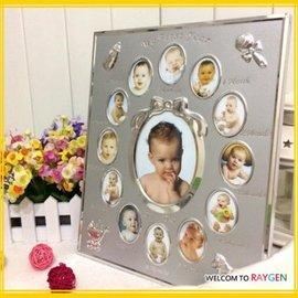 寶寶0-12個月成長相框 記錄 彌月禮【HH婦幼館】