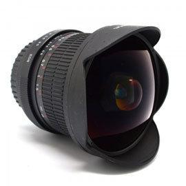 超廣角 定焦 8mm 167° 魚眼鏡頭 ^(Nikon F 接環^)