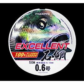 ◎百有釣具◎太平洋POKEE 石鯛 CORBON 50M 6號 透明線 日本原裝碳線 針對黑毛,白毛,黑鯛設計之魚線 釣線