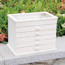 5Cgo~ 七天交貨~21915392993 首飾盒 實木首飾盒韓國公主 超大木質歐式複古