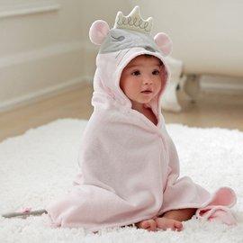 美國 Elegant Baby 動物連帽浴巾 ~ 老鼠公主 SKU 79597