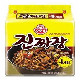 韓國不倒翁OTTOGI 真炸醬麵 ^(135Gx4包^)