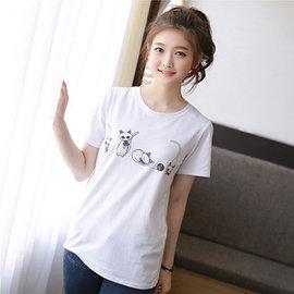 ~ORead~~e5500307~寬鬆半袖T恤 3色M~2XL