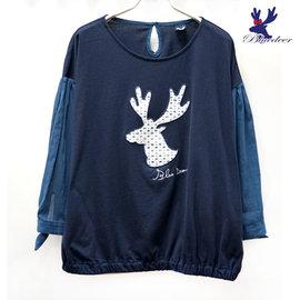 American Bluedeer 2016春夏藍鹿魅力價 蕾絲鹿上衣