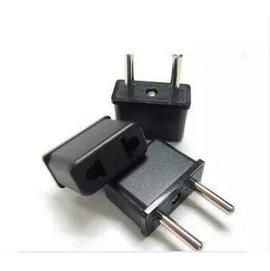 歐洲圓頭 換插頭/轉換頭 (適用歐洲插座) 台/美規轉歐規 [MPM-00006]