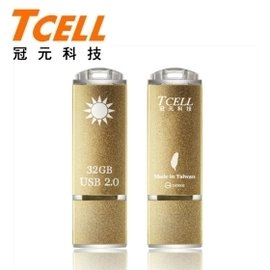 TCELL冠元 i~Taiwan國旗碟金色限定版32GB
