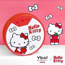 Vbot Hello kitty 鋰電池智慧吸塵掃地機器人^(白^)