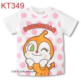 小確幸 KT349 卡通純棉白色短T可愛紅精靈 細菌妹 前後圖T 卡哇衣登場