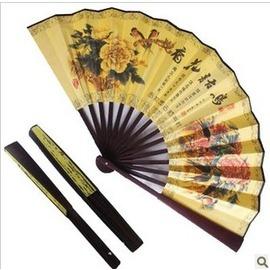 中國風扇子 紙扇子 高檔紅木 折扇日用扇 男古裝 古裝配飾