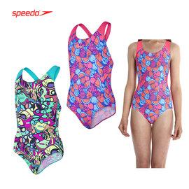 SPEEDO Fruit Cocktail SB 女孩競技連身泳裝(兒童 泳衣 游泳【03450009】≡排汗專家≡