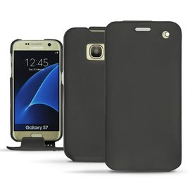 NOREVE 三星 Samsung Galaxy S7  下掀皮套 保護套 手機套 訂製 法國頂級手機皮套 腰掛 3種設計 50種顏色