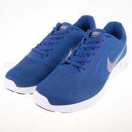 NIKE  REVOLUTION 3  輕量慢跑鞋-藍-819300400
