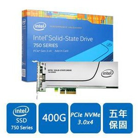 ~綠蔭~全店~Intel 750~SSDPEDMW400G4X1^(PCIe介面^)