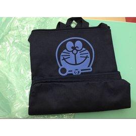 帆布 雙袋包、 機器貓多啦a夢、小叮噹貼身側背小包