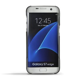 NOREVE 三星 Samsung Galaxy S7 edge  真皮 手機殼 保護殼 背蓋 法國頂級手機皮套 訂製