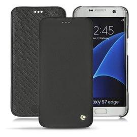 NOREVE Samsung 三星 Galaxy S7 edge 側掀書本式皮套 真皮 保護套 保護殼 手機套 手機殼 手工 訂製 法國頂級手機皮套 50種顏色