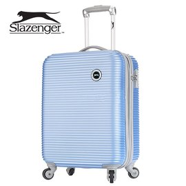 Slazenger 史萊辛格20吋 珠光橫條紋行李箱 拉桿箱 登機箱