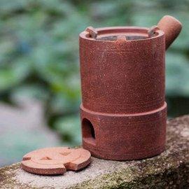 5Cgo ~ 七天交貨~40693119811 獨秀爐茶道煮茶壺炭爐功夫茶爐茶具用品碳爐燒