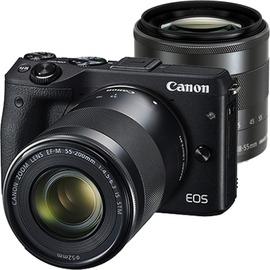 ~天辰3C~中和 單眼相機 Canon EOS M3 STM 變焦雙鏡組  攜碼跳槽 大哥