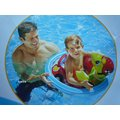玩樂 美國INTEX 59570 烏龜坐位式充氣游泳圈 嬰兒坐圈 兒童浮圈 夏天玩水 游泳