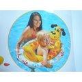 玩樂 美國INTEX 59570 小黃狗坐位式充氣游泳圈 嬰兒坐圈 兒童浮圈 夏天玩水 游