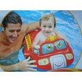 玩樂 美國INTEX 59586 消防車坐位式充氣游泳圈 嬰兒坐圈 浮圈 兒童夏天玩水 游