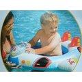 玩樂 美國INTEX 59586 飛機坐位式充氣游泳圈 嬰兒坐圈 兒童浮圈 兒童夏天玩水