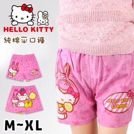 HELLO KITTY 純棉平口褲 凱蒂貓與Rody甜點屋款 三麗鷗
