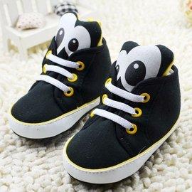 森林寶貝屋^~黑色可愛球鞋^~學步鞋^~幼兒鞋^~寶寶鞋^~娃娃鞋^~童鞋^~鬆緊帶 ^~