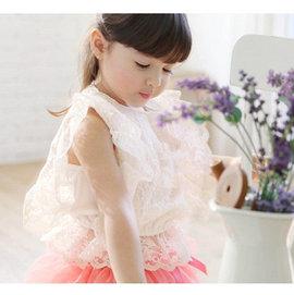 ~貝貝樂SHOW~春夏浪漫唯美全蕾絲花蝙蝠衫上衣~如圖白色~正韓pinkideal品牌