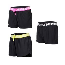 UA UNDER ARMOUR HG Play Up女訓練短褲(免運 【04351008】≡排汗專家≡