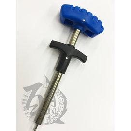 ◎百有釣具◎FUKUSHIMA 手壓式脫鉤器(大) 長約27cm